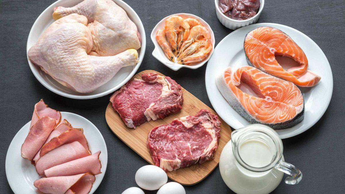 Análise de alimentos de origem animal para indústria