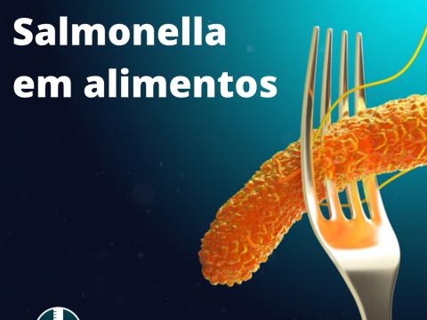 Análise de Salmonella em alimentos
